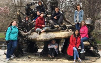 Junior & Senior Students Visit New York