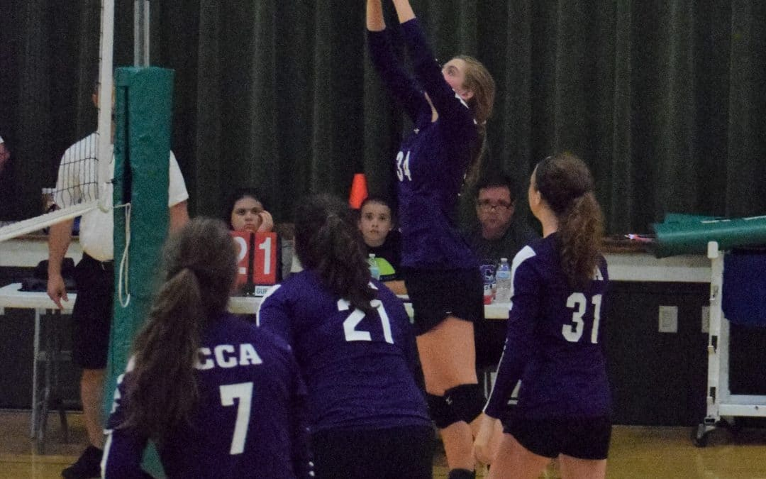 CCA Girls Volleyball Scrimmages With Local Teams