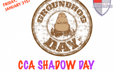 CCA Shadow Day Friday, January 31st!