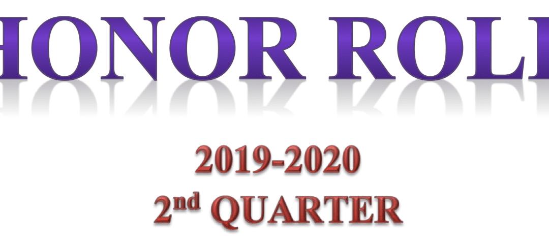 CCA Posts 2nd Quarter Honor Roll