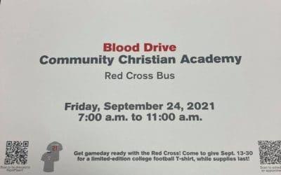 CCA Blood Drive!